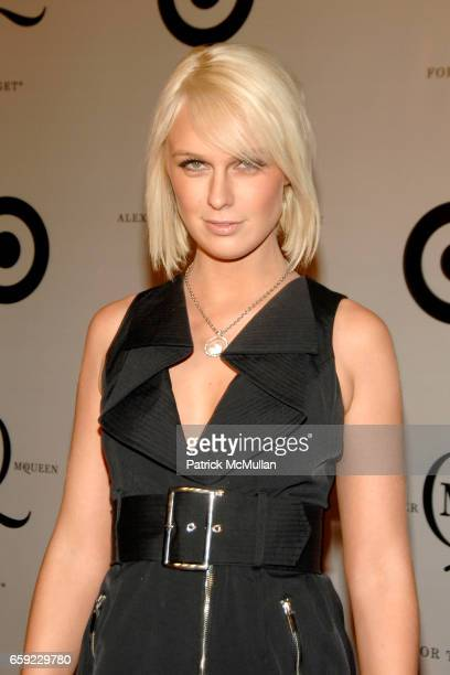 CariDee English attends McQ Alexander McQueen for Target Debuts TARGET McQ MARKET in NYC at St John's Center on February 13 2009 in New York City