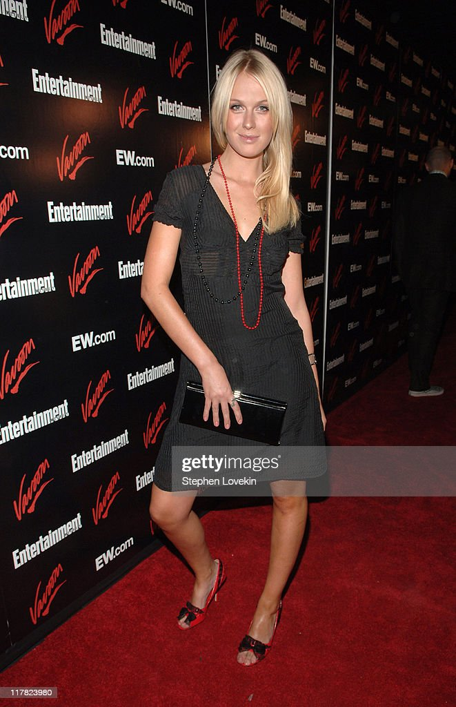 CariDee English during Entertainment Weekly/Vavoom 2007 Upfront Party - Red Carpet at The Box in New York City, New York, United States.