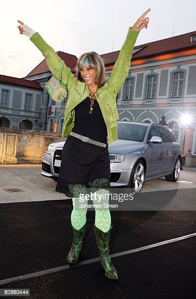 Carin C Tietze attends the 'Fabulous Celebration' at Nymphenburg Castle on September 18 2008 in Munich Germany French champagne producer Moet Chandon...