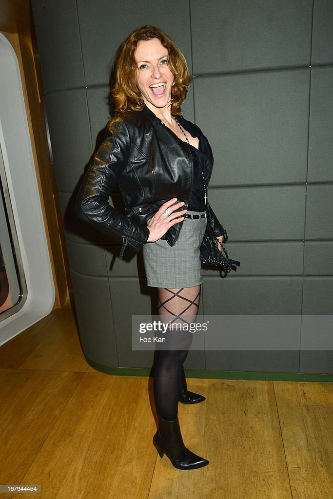 DJ Carina attends the Sam Bobino DJ Set Party At The Hotel O on April 25, 2013 in Paris, France.