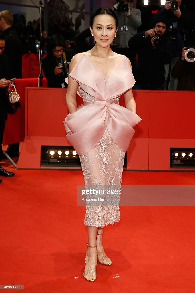 <a gi-track='captionPersonalityLinkClicked' href=/galleries/search?phrase=Carina+Lau&family=editorial&specificpeople=663580 ng-click='$event.stopPropagation()'>Carina Lau</a> arrives for the closing ceremony during 64th Berlinale International Film Festival at Berlinale Palast on February 15, 2014 in Berlin, Germany.