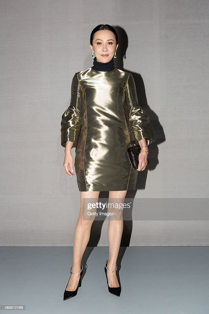 <a gi-track='captionPersonalityLinkClicked' href=/galleries/search?phrase=Carina+Lau&family=editorial&specificpeople=663580 ng-click='$event.stopPropagation()'>Carina Lau</a> attends the Dior Haute Couture Spring Summer 2014 Fashion Show on April 9, 2014 in Hong Kong, Hong Kong.