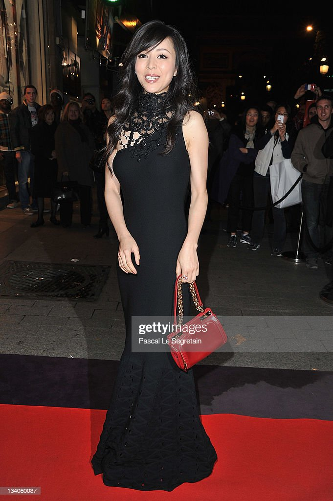 Carina Lau attends the Lancel celebration of '135 Years Of French Legerete' Hosted By Sienna Miller on November 24, 2011 in Paris, France.