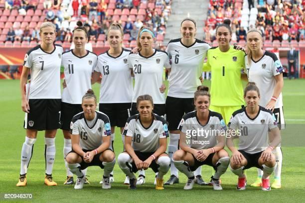 Carina Wenninger of Austria women Viktoria Schnaderbeck of Austria women Virginia Kirchberger of Austria women Lisa Makas of Austria women Katharina...