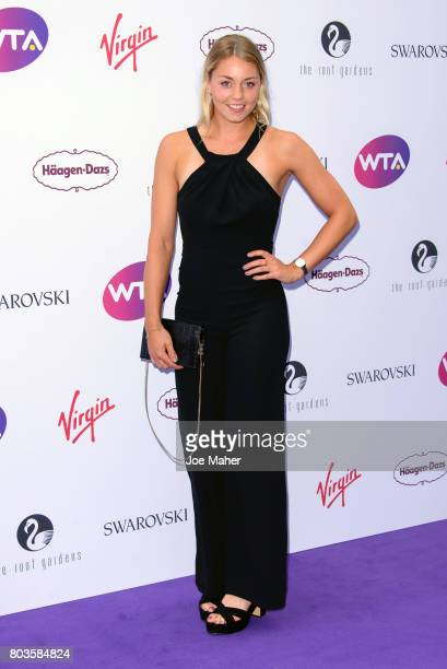 Carina Witthoeft attends the WTA PreWimbledon party at Kensington Roof Gardens on June 29 2017 in London England
