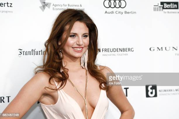Carina Zavline GNTM Top 8 finalist attends the GreenTec Awards at ewerk on May 12 2017 in Berlin Germany