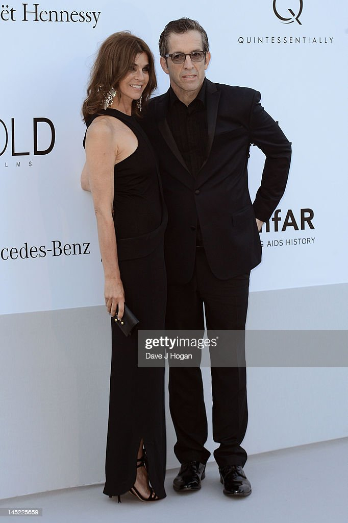 <a gi-track='captionPersonalityLinkClicked' href=/galleries/search?phrase=Carine+Roitfeld&family=editorial&specificpeople=240177 ng-click='$event.stopPropagation()'>Carine Roitfeld</a> and amfAR Chairman Kenneth Cole arrive at the 2012 amfAR's Cinema Against AIDS during the 65th Annual Cannes Film Festival at Hotel Du Cap on May 24, 2012 in Cap D'Antibes, France.
