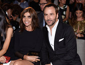 Carine Roitfeld and Tom Ford attend The Daily Front Row Second Annual Fashion Media Awards at Park Hyatt New York on September 5 2014 in New York City
