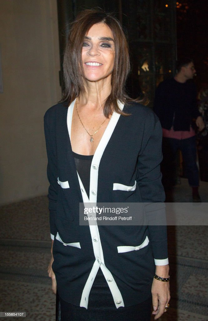<a gi-track='captionPersonalityLinkClicked' href=/galleries/search?phrase=Carine+Roitfeld&family=editorial&specificpeople=240177 ng-click='$event.stopPropagation()'>Carine Roitfeld</a> attends 'La Petite Veste Noire' Book Launch Hosted By Karl Lagerfeld & <a gi-track='captionPersonalityLinkClicked' href=/galleries/search?phrase=Carine+Roitfeld&family=editorial&specificpeople=240177 ng-click='$event.stopPropagation()'>Carine Roitfeld</a> at Grand Palais on November 8, 2012 in Paris, France.