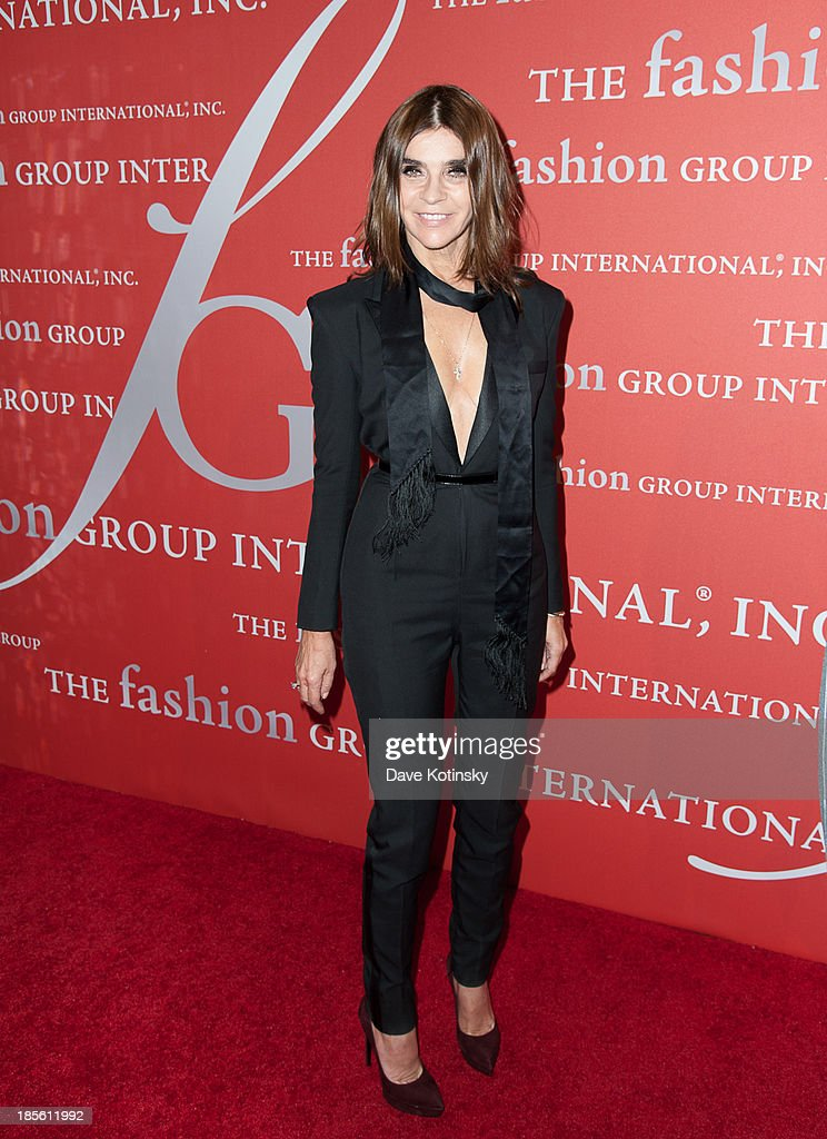 <a gi-track='captionPersonalityLinkClicked' href=/galleries/search?phrase=Carine+Roitfeld&family=editorial&specificpeople=240177 ng-click='$event.stopPropagation()'>Carine Roitfeld</a> attends the 30th Annual Night Of Stars presented by The Fashion Group International at Cipriani Wall Street on October 22, 2013 in New York City.