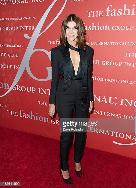 Carine Roitfeld attends the 30th Annual Night Of Stars presented by The Fashion Group International at Cipriani Wall Street on October 22 2013 in New...