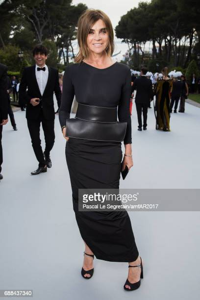Carine Roitfeld attends the amfAR Gala Cannes 2017 at Hotel du CapEdenRoc on May 25 2017 in Cap d'Antibes France