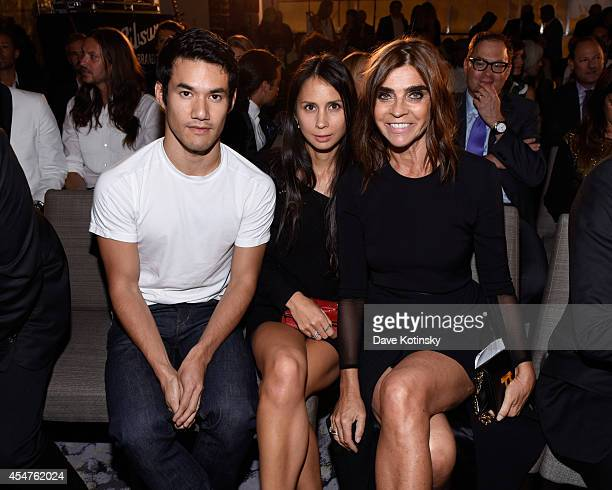 Carine Roitfeld attends The Daily Front Row Second Annual Fashion Media Awards at Park Hyatt New York on September 5 2014 in New York City
