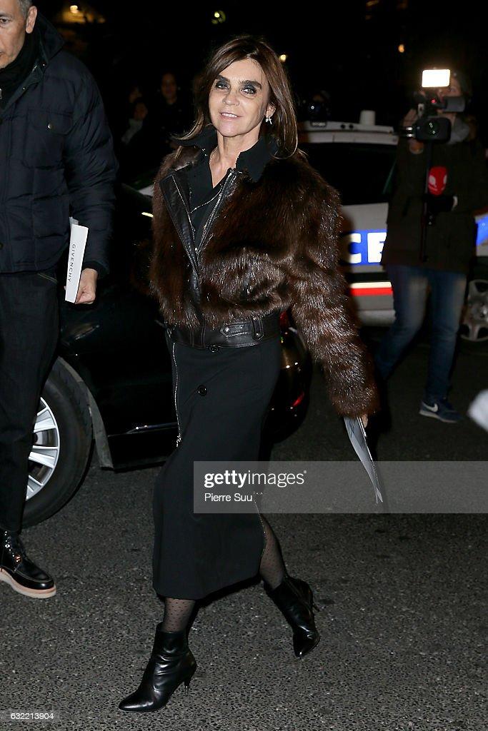Givenchy : Outside Arrivals - Paris Fashion Week - Menswear F/W 2017-2018