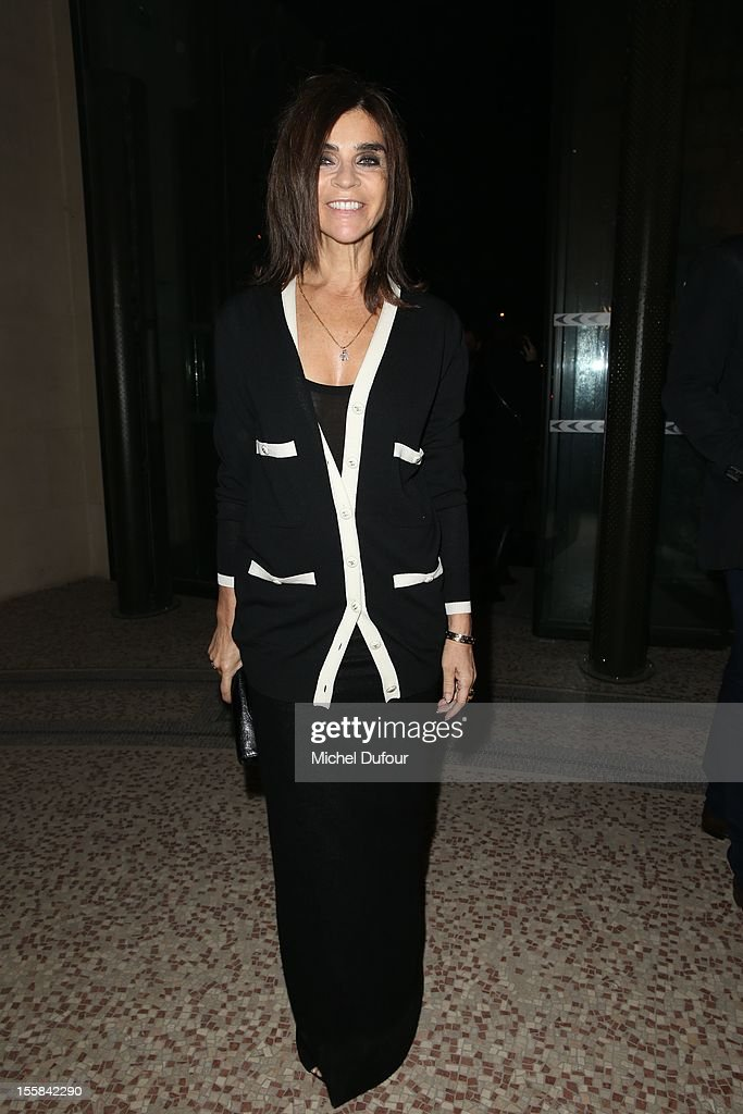 <a gi-track='captionPersonalityLinkClicked' href=/galleries/search?phrase=Carine+Roitfeld&family=editorial&specificpeople=240177 ng-click='$event.stopPropagation()'>Carine Roitfeld</a> attends the'La Petite Veste Noire' Book Launch Hosted By Karl Lagerfeld & <a gi-track='captionPersonalityLinkClicked' href=/galleries/search?phrase=Carine+Roitfeld&family=editorial&specificpeople=240177 ng-click='$event.stopPropagation()'>Carine Roitfeld</a> at Grand Palais on November 8, 2012 in Paris, France.