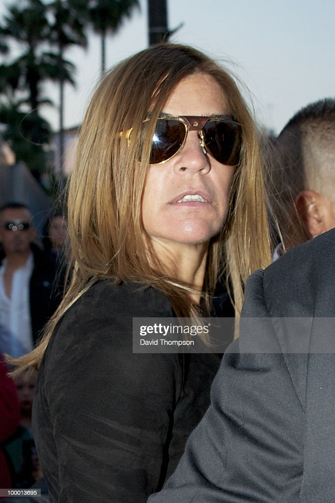 Carine Roitfeld ,French Vogue editor is seen out on May 19, 2010 in Cannes, France.