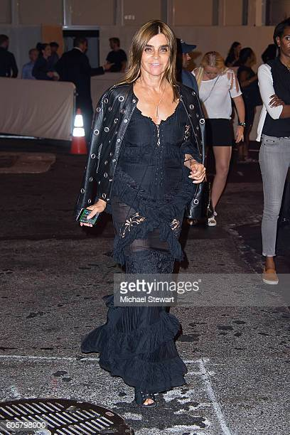 Carine Roitfeld is seen in the Upper East Side on September 14 2016 in New York City