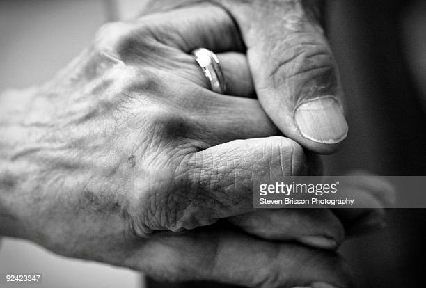 Caring Hand on Senior Hand
