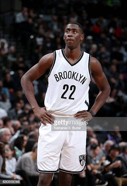 Caris LeVert of the Brooklyn Nets isolated during a game between the Charlotte Hornets and the Brooklyn Nets on December 26 2016 at Barclays Center...