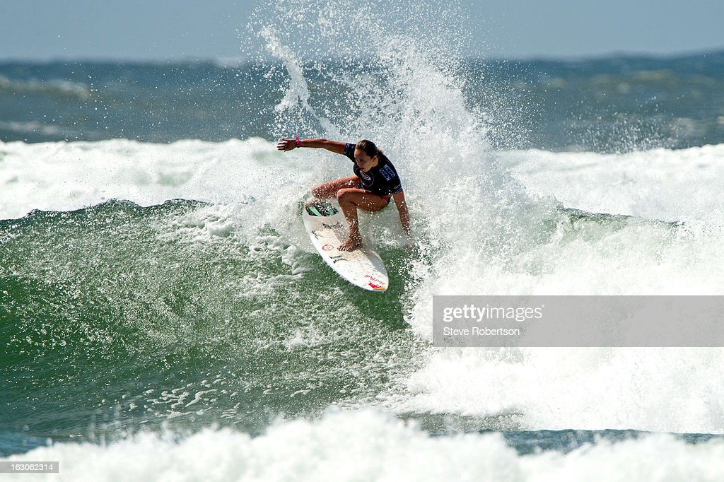 Carissa Moore of Hawaii during the Roxy Pro Gold Coast 2013 on March 4, 2013 in Gold Coast, Australia.