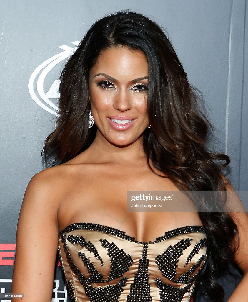 Carissa Rosario attends the 10th Annual ESPN The Magazine Pre-Draft Party at The IAC Building on April 24, 2013 in New York City.