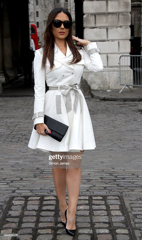 Celebrity Sightings On Day 5 Of London Fashion Week AW15 - February 24, 2015