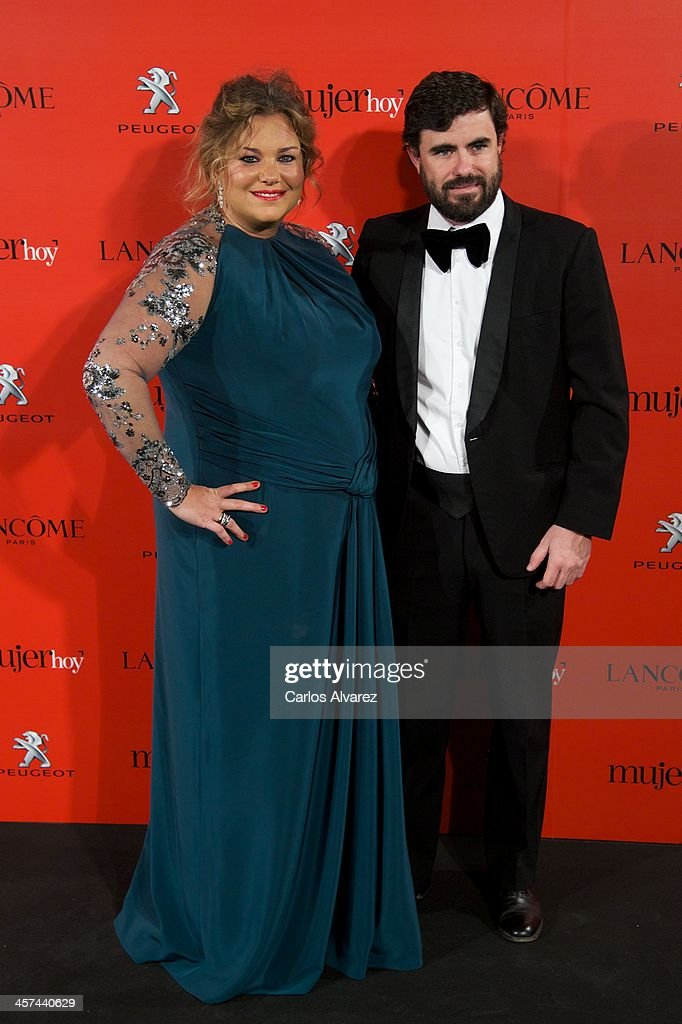 Caritina Goyanes and Antonio Matos attend the 'Mujer de Hoy' awards 2013 at the Hotel Palace on December 17, 2013 in Madrid, Spain.