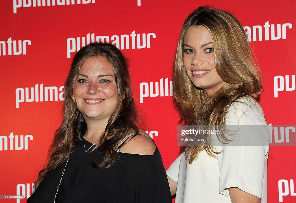 Caritina Goyanes and Carla Goyanes attend the launch of 'Viajes Ocio Placer' Pullmantur's Magazine at Oui on March 31 2011 in Madrid Spain