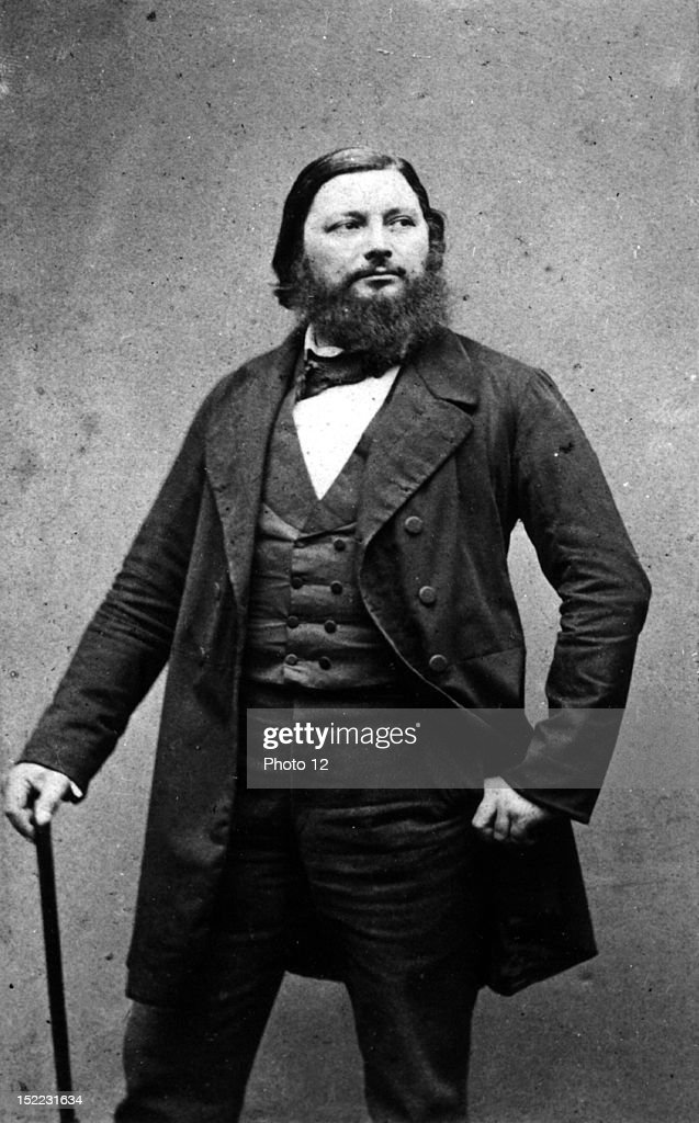 Carjat Photograph of Gustave Courbet