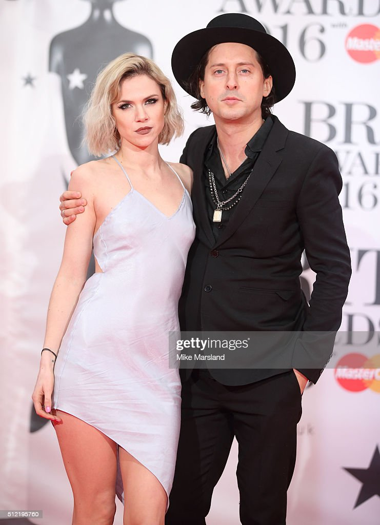 Carl Barat attends the BRIT Awards 2016 at The O2 Arena on February 24, 2016 in London, England.