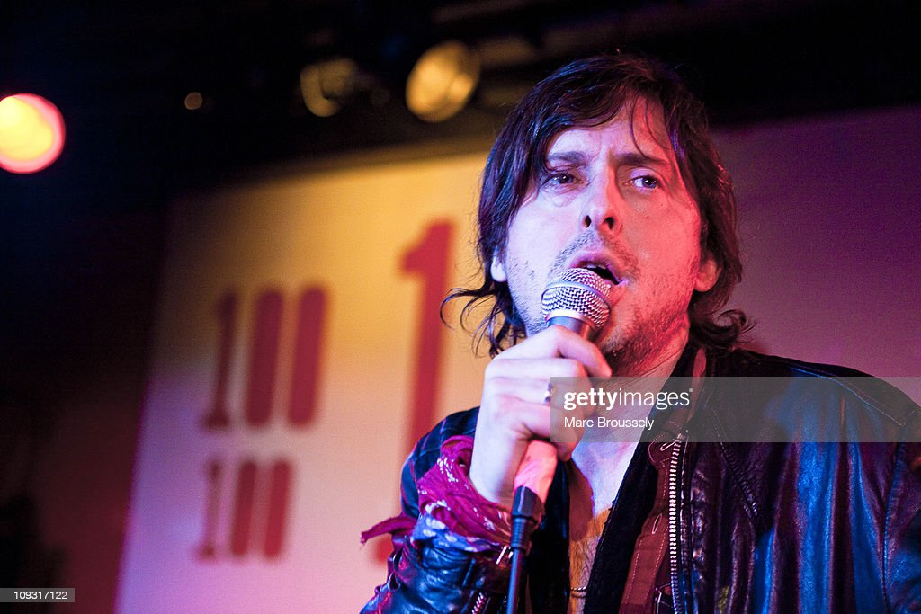 <a gi-track='captionPersonalityLinkClicked' href=/galleries/search?phrase=Carl+Barat&family=editorial&specificpeople=573150 ng-click='$event.stopPropagation()'>Carl Barat</a> performs during Shockwaves NME Awards Show at The 100 Club on February 20, 2011 in London, England.
