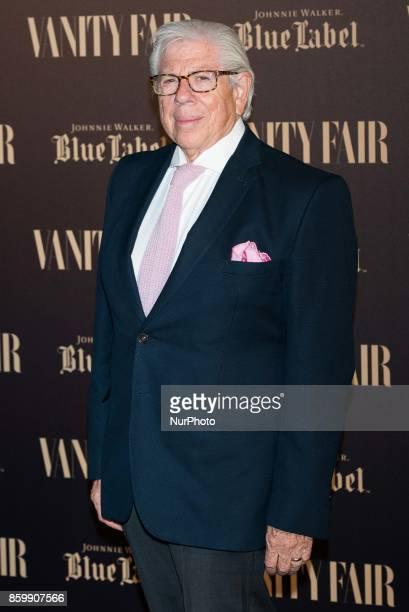 Carl Berstein attends the Vanity Fair international journalism award at Santo Mauro Hotel in Madrid on 10 Oct 2017
