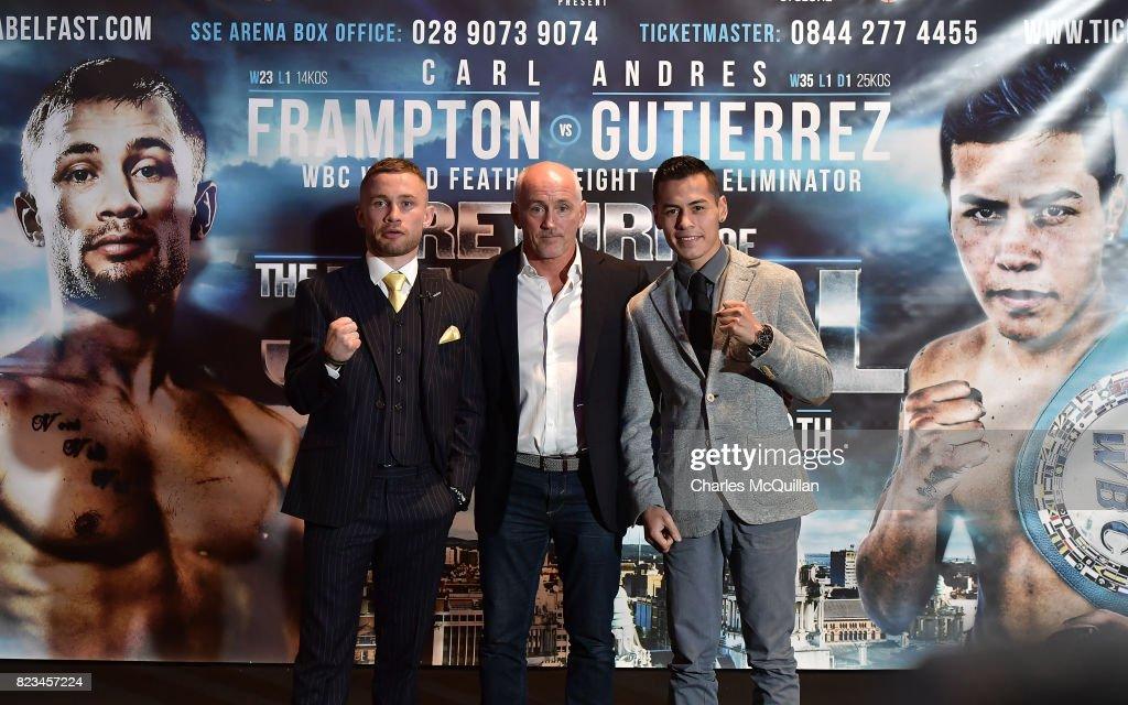 Carl Frampton v Andres Gutierrez Press Conference