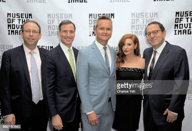 Carl Goodman Ivan L Lustig Rob Price Lila Feinberg and Michael Barker attend 2017 Museum Of The Moving Image Industry Honors at Park Hyatt Hotel New...