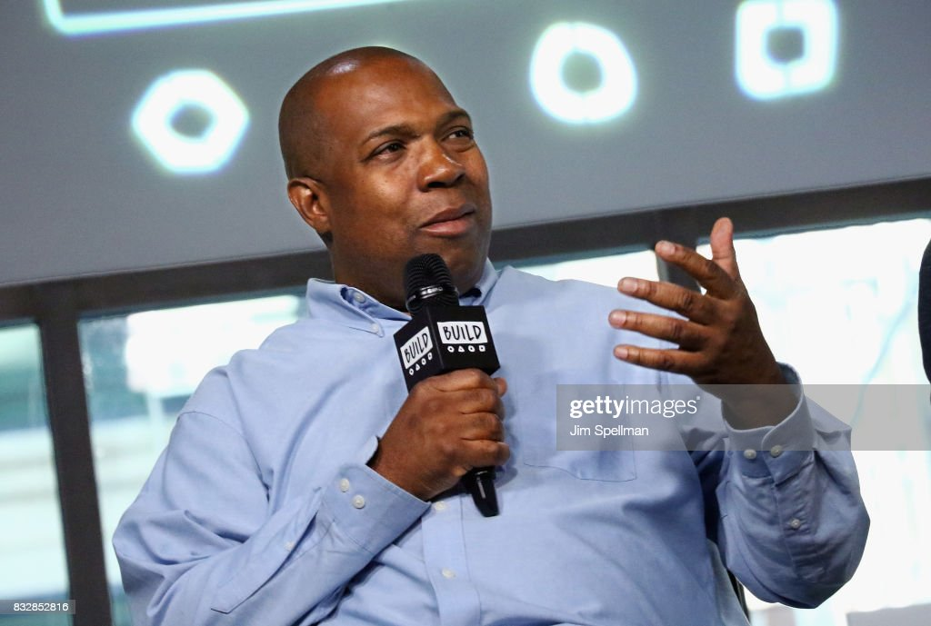 Carl King attends Build to discuss 'Crown Heights' at Build Studio on August 16, 2017 in New York City.