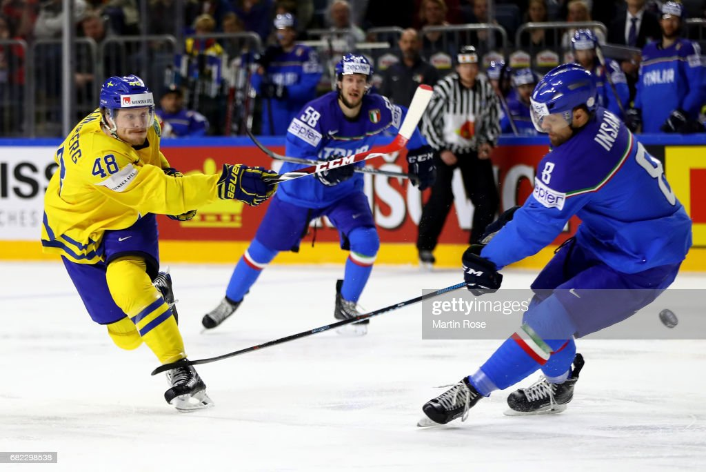 Sweden v Italy - 2017 IIHF Ice Hockey World Championship