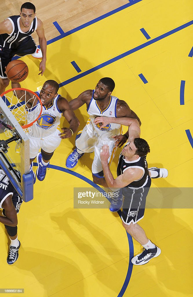 <a gi-track='captionPersonalityLinkClicked' href=/galleries/search?phrase=Carl+Landry&family=editorial&specificpeople=4111952 ng-click='$event.stopPropagation()'>Carl Landry</a> #7 of the Golden State Warriors shoots against the Oklahoma City Thunder on April 11, 2013 at Oracle Arena in Oakland, California.