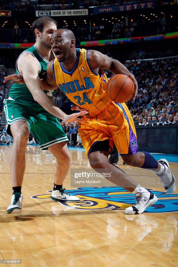 Boston Celtics v New Orleans Hornets