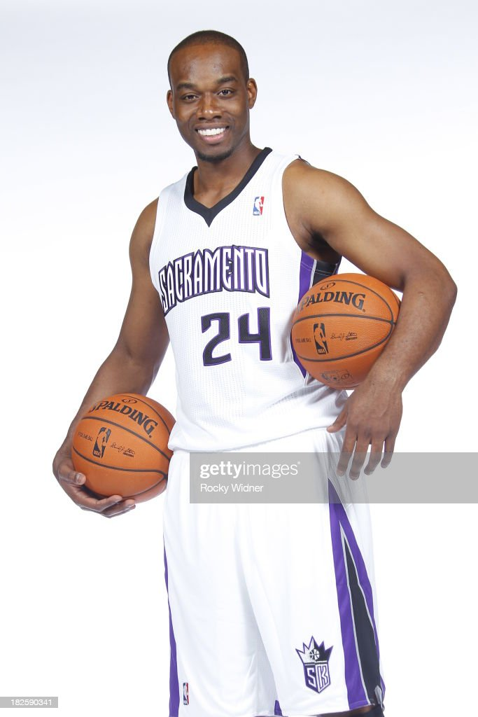 Carl Landry of the Sacramento Kings poses for a photo on media day September 30 2013 at the Kings practice facility in Sacramento California NOTE TO...