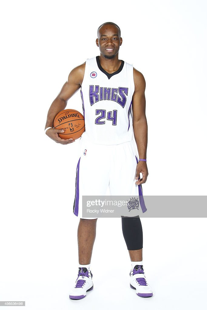 Carl Landry of the Sacramento Kings poses for a photo on media day September 26 2014 at the Kings practice facility in Sacramento California NOTE TO...