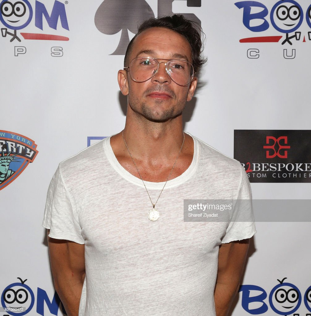 Carl Lentz attends 2017 Aces Charity Celebrity Basketball Game at Madison Square Garden on August 13, 2017 in New York City.