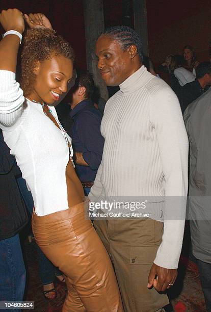 Carl Lewis Alyma during Deep One Year Anniversary Party at Deep in Hollywood California United States