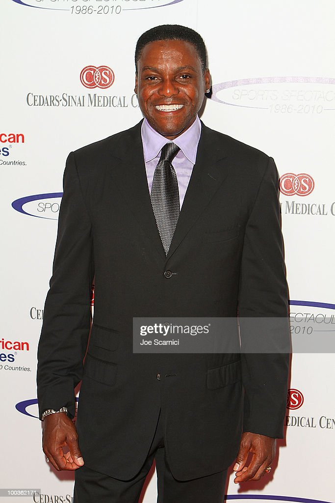 Carl Lewis arrives to the 25th Anniversary Of Cedars-Sinai Sports Spectacular at Hyatt Regency Century Plaza on May 23, 2010 in Century City, California.