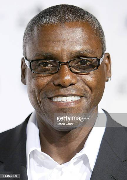 Carl Lewis during Griffith Observatory ReOpening Galactic Gala at Griffith Observatory in Los Angeles CA United States