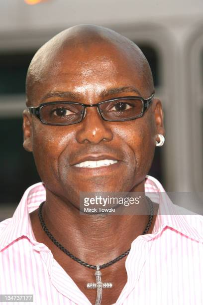 Carl Lewis during 'Weeds' Season Two Premiere at Egyptian Theatre in Hollywood California United States