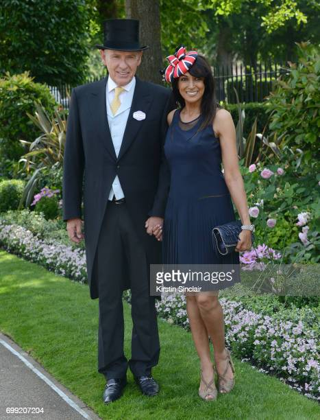 Carl Michaelsen and Jackie St Clair attend day 2 of Royal Ascot at Ascot Racecourse on June 21 2017 in Ascot England