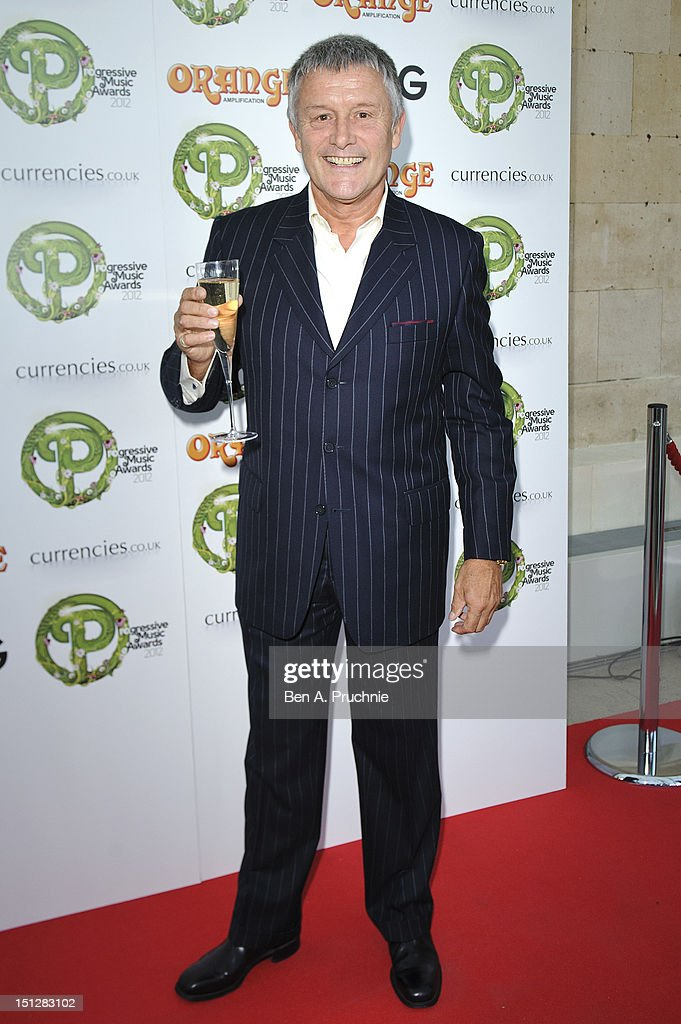 <a gi-track='captionPersonalityLinkClicked' href=/galleries/search?phrase=Carl+Palmer&family=editorial&specificpeople=1631170 ng-click='$event.stopPropagation()'>Carl Palmer</a> attends the Progressive Music Awards at Kew Gardens on September 5, 2012 in London, England.