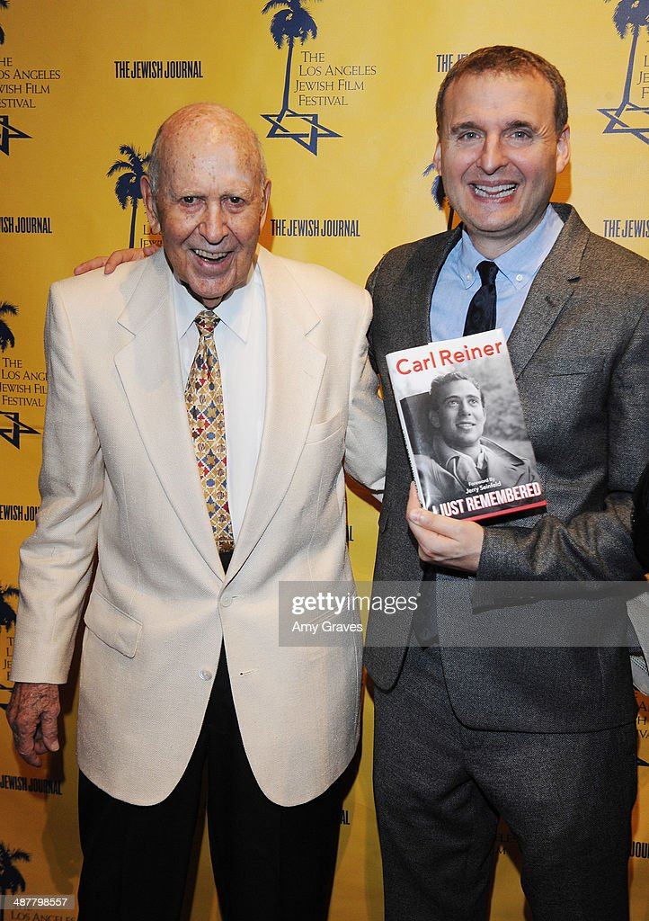 <a gi-track='captionPersonalityLinkClicked' href=/galleries/search?phrase=Carl+Reiner&family=editorial&specificpeople=660635 ng-click='$event.stopPropagation()'>Carl Reiner</a> and <a gi-track='captionPersonalityLinkClicked' href=/galleries/search?phrase=Phil+Rosenthal+-+Producer&family=editorial&specificpeople=15068449 ng-click='$event.stopPropagation()'>Phil Rosenthal</a> attend the Opening Night Gala of the LA Jewish Film Festival Honoring <a gi-track='captionPersonalityLinkClicked' href=/galleries/search?phrase=Carl+Reiner&family=editorial&specificpeople=660635 ng-click='$event.stopPropagation()'>Carl Reiner</a> on May 1, 2014 in Los Angeles, California.