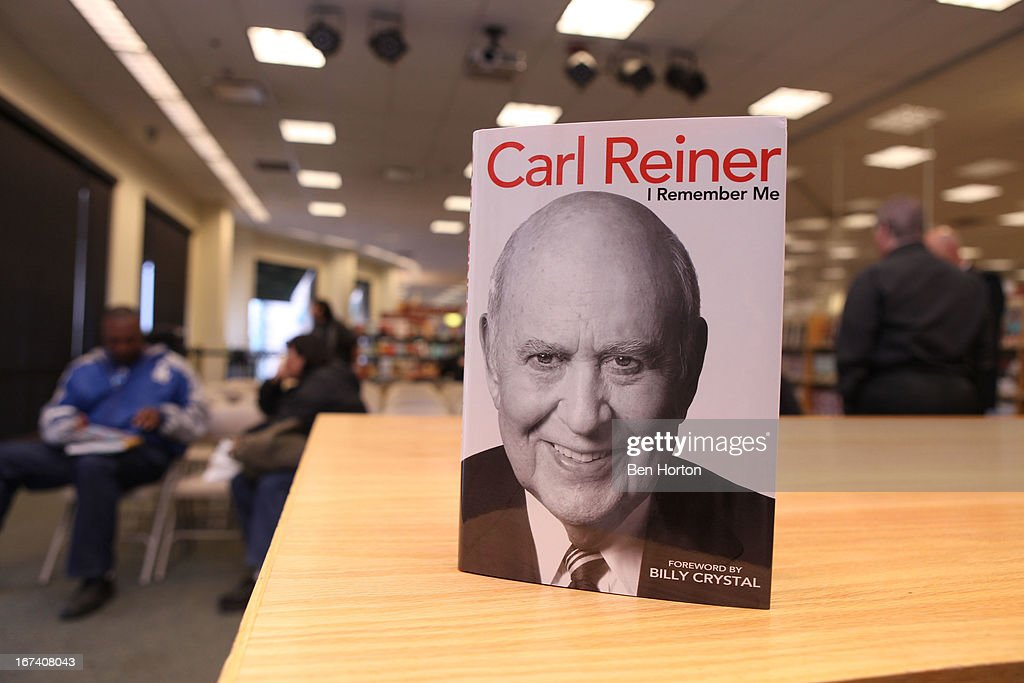 Carl Reiner's new book 'I Remember Me' at Barnes & Noble bookstore at The Grove on April 24, 2013 in Los Angeles, California.