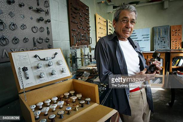 Carl Sriber director of Mother of Pearl pictured in the store on McLachlan Ave Rushcutters Bay 27 July 2006 SMH Picture by NARELLE AUTIO
